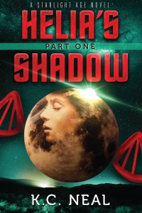 Helia's Shadow Part One by K.C. Neal book cover